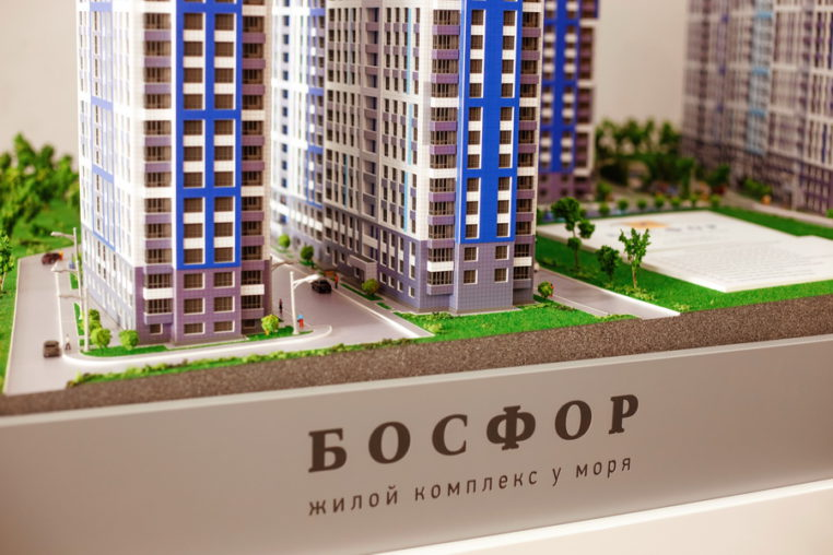 Макет ЖК «Босфор»