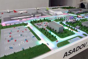Интерактивный макет аэропорта Кемерово