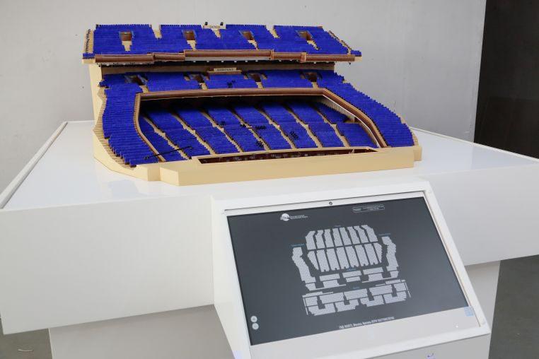 Интерактивный макет Театрального зала Государственного Кремлевского дворца