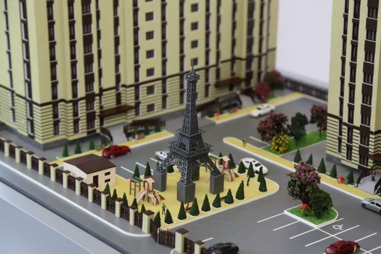 Макет ЖК Французский квартал